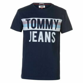 Tommy Jeans Colour Block T Shirt