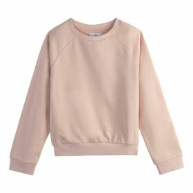 Plain Cotton Short Sweatshirt