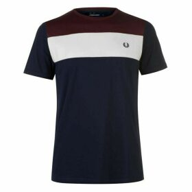 Fred Perry Colour Block T Shirt