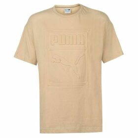Puma Arch Embroidered T Shirt