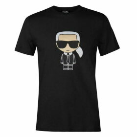 Karl Lagerfeld Karl Embroidered T Shirt
