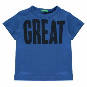 Benetton Great Print T Shirt