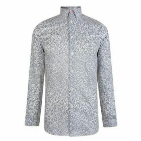 Paul Smith Tailoring Pollen Ditsy Tailored Fit Shirt