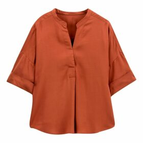 Mandarin Collar Blouse