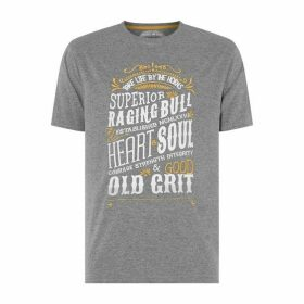 Raging Bull Heart and Soul T Shirt