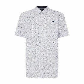 Raging Bull Short Sleeve Ditzy Floral Print Shirt
