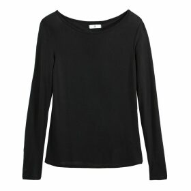 Draping Round-Neck T-Shirt