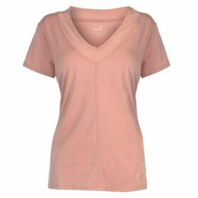 Puma Slouchy Mesh T Shirt Ladies