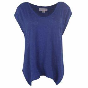 Velvet Linen T Shirt