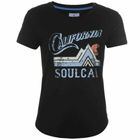 SoulCal Vintage T Shirt Ladies