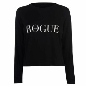 Swallows and Daggers Rogue Crop Long Sleeve T Shirt