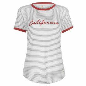 SoulCal Striped California T Shirt