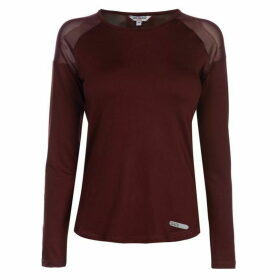 SoulCal Deluxe Long Sleeve Mesh Top