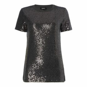 DKNY Core Sequin Tee Ld92