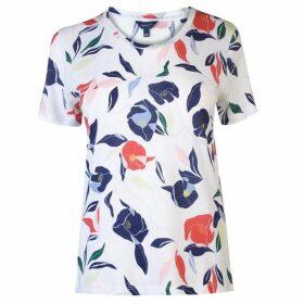 Gant Print T Shirt Ladies