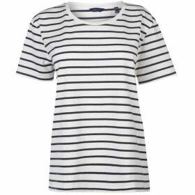 Gant Breton Stripe T Shirt Ladies