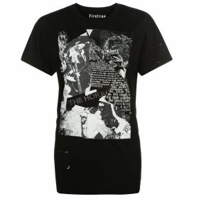 Firetrap Blackseal Band Graphic T Shirt