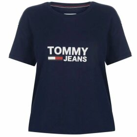Tommy Jeans Flag T Shirt