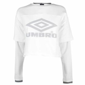 Umbro Rail Long Sleeve T Shirt