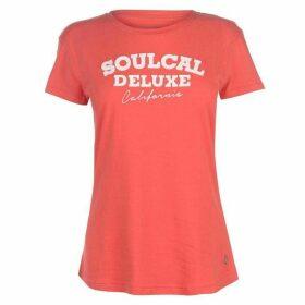 SoulCal Applique T Shirt Ladies