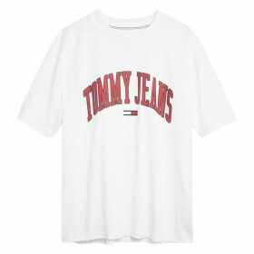 Tommy Jeans College Logo T Shirt