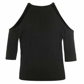 Firetrap Blackseal Cold Shoulder Top