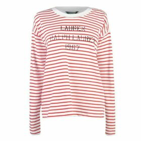 Lauren by Ralph Lauren Kylene Long Sleeve T Shirt