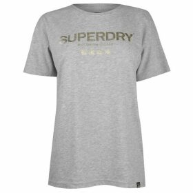 Superdry Womens Luxe Oversized Portland T-Shirt