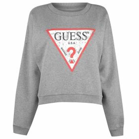 Guess Womens Logo Sweater