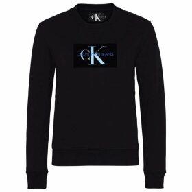 Calvin Klein Jeans Mono Flock Crew Sweater