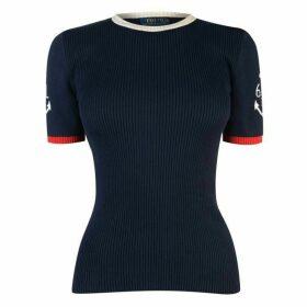 Polo Ralph Lauren Anchor Short Sleeve Sweater