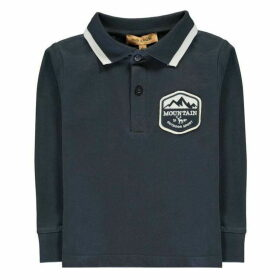 Rock and Wilde Long Sleeve Crest Polo Shirt