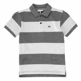 Lacoste Block Stripe Polo Shirt