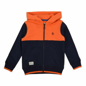 Original Penguin Block Fleece Hoodie