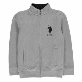 US Polo Assn Funnel Zip Sweater