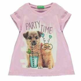 Benetton Party Time T Shirt