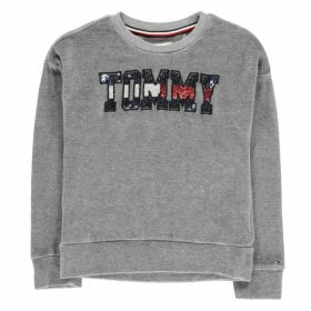Tommy Hilfiger Sequin Velour Sweater