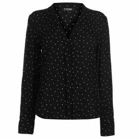 Firetrap Blackseal Dot Blouse