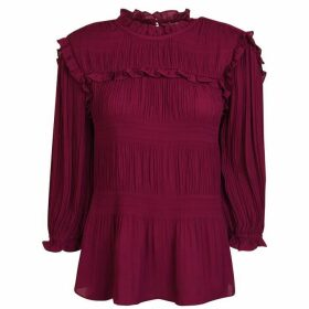 Ted Baker Pleated Blouse
