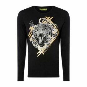 Versace Jeans VJ Leopard T Sn84