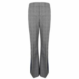 Tommy Hilfiger Check Flare Trousers