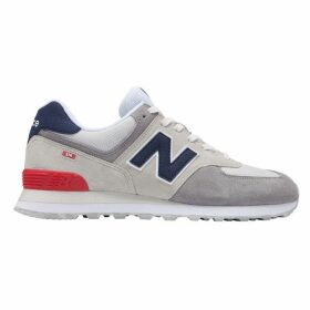 New Balance 574 Suede Tab Trainers