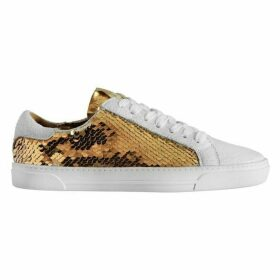 DKNY Andi Low Sequin Trainers