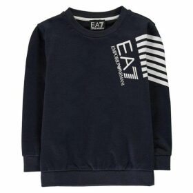 EA7 7 Line Logo Sweater