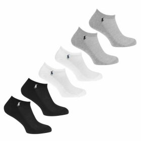 Polo Ralph Lauren Bodywear 6 Pack Multi Trainers Socks