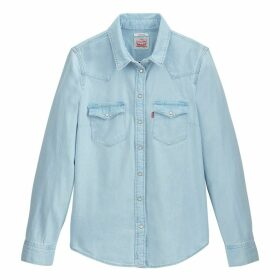 Ultimate Western Straight Cut Denim Shirt