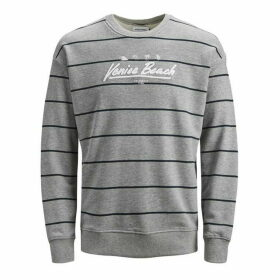 Jack and Jones Junior Striped Crew Sweat