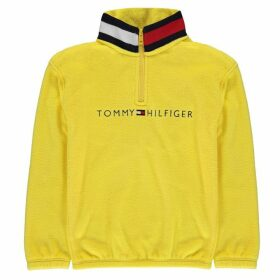 Tommy Hilfiger Collar Zip Top