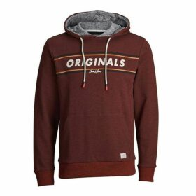 Jack and Jones Junior Logo Hooded Sweat
