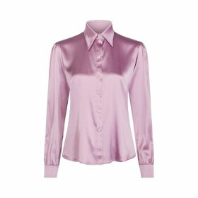 Tommy X Zendaya Satin Long-Sleeved Shirt